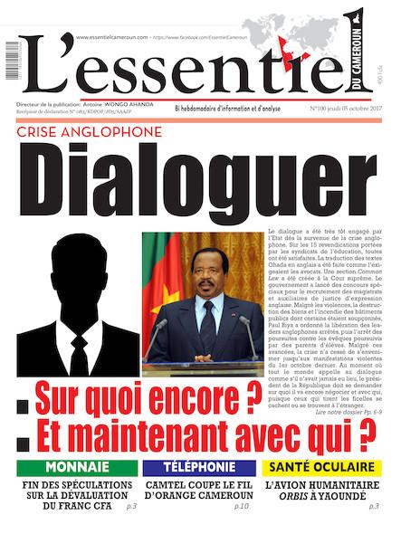 L'essentiel du Cameroun numéro 101