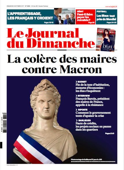 Journal Du Dimanche - 8 Octobre 2017
