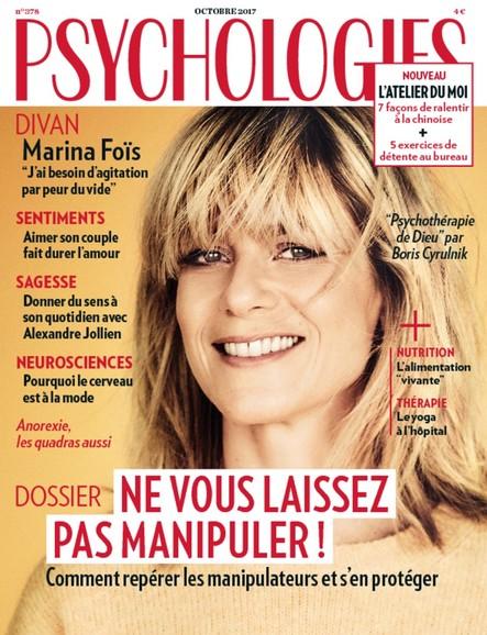 Psychologies Magazine - Octobre 2017