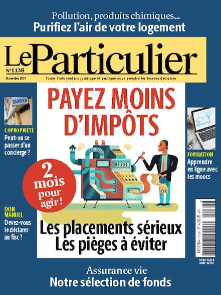 Le Particulier - N°1138 - Novembre 2017