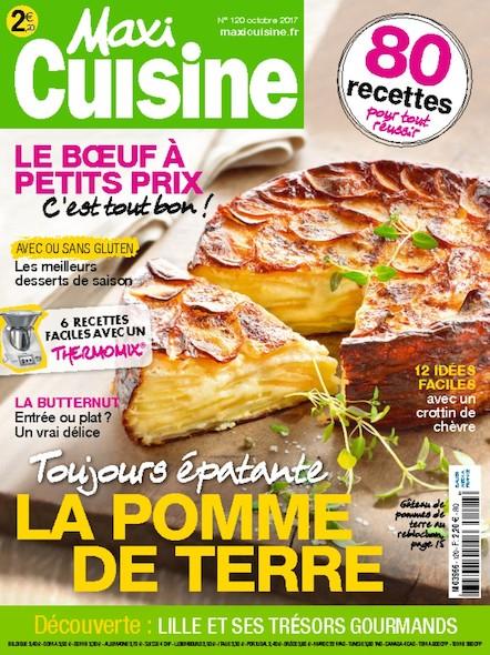 Maxi Cuisine | Octobre 2017 | N°119
