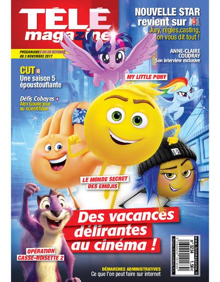 Télé magazine - 30 Octobre / 3 Novembre 2017