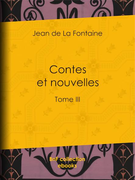 Contes et nouvelles III