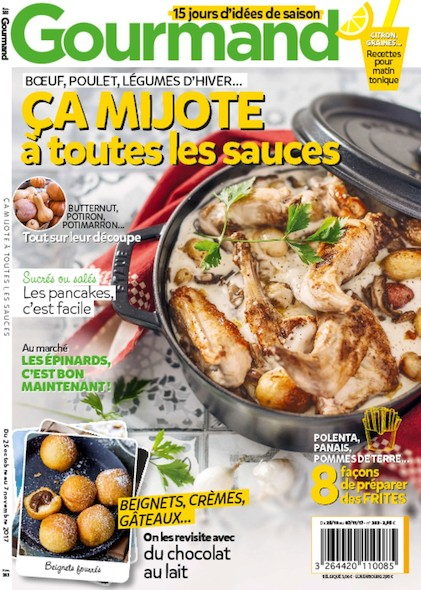 Gourmand - Du 25 Octobre au 3 Novembre 2017