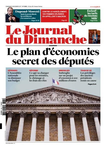 Journal Du Dimanche - 5 Novembre 2017