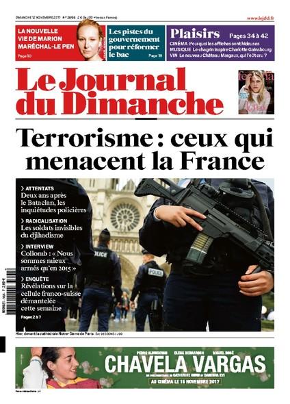 Journal Du Dimanche - 12 Novembre 2017