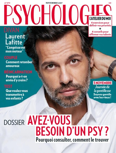 Psychologies Magazine - Novembre 2017