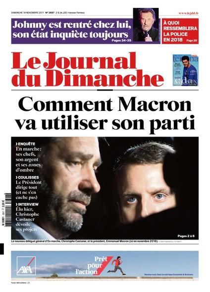 Journal Du Dimanche - 19 Novembre 2017