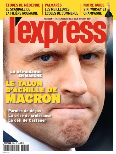 L'Express - Novembre 2017 - Le talon d'Achille de Macron