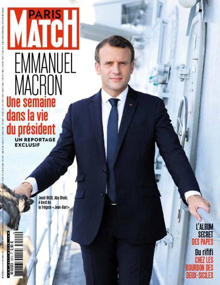 Paris Match N°3574 Novembre 2017
