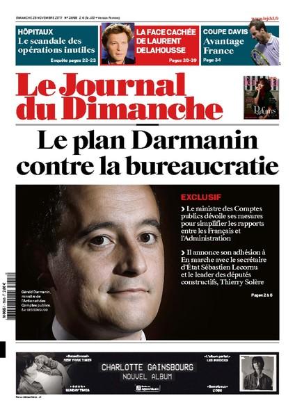 Journal Du Dimanche - 26 Novembre 2017