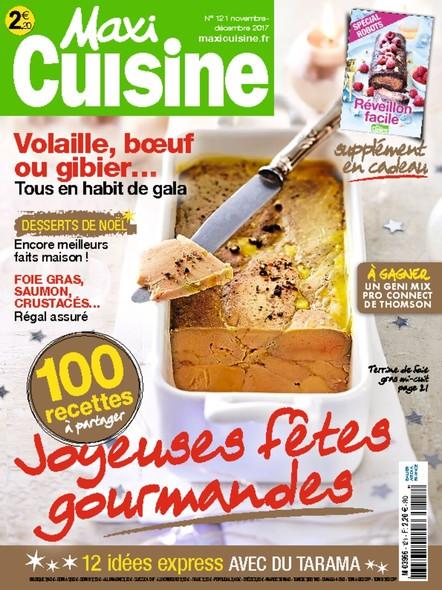 Maxi Cuisine | Novembre/Décembre 2017 | N°121