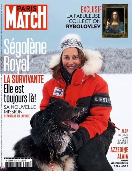 Paris Match N°3575 Novembre 2017