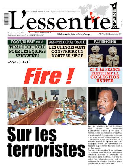 L'essentiel du Cameroun numéro 117
