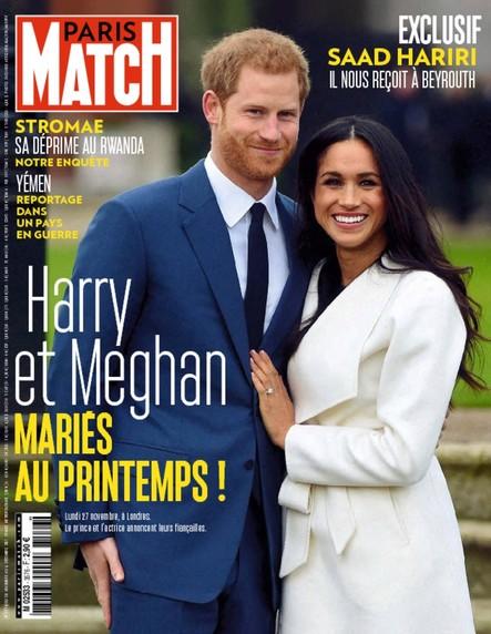 Paris Match N°3576 Décembre 2017