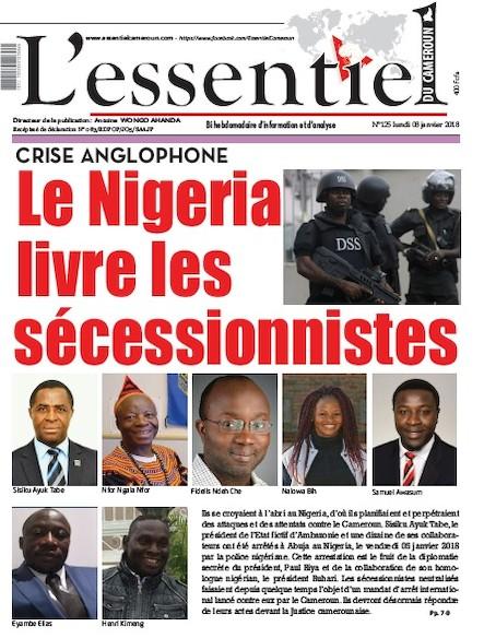 L'essentiel du Cameroun numéro 125