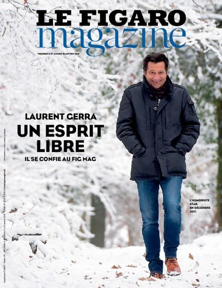 Le Figaro Magazine : Laurent Gerra, un esprit libre