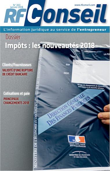 RF Conseil - Janvier 2018
