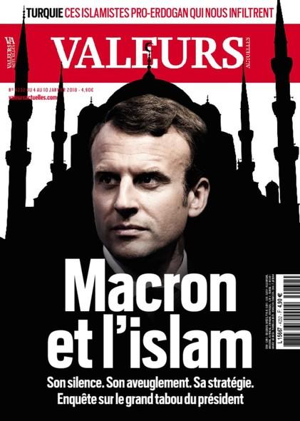 Valeurs Actuelles - Janvier 2018 - Macron et l'Islam
