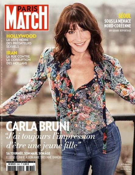 Paris Match N°3582 Janvier 2018