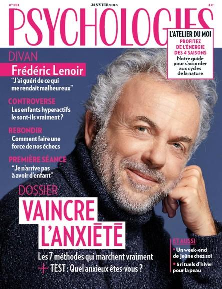 Psychologies Magazine - Janvier 2018