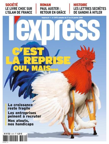 L'Express - Janvier 2018 - C'est la reprise oui, mais...