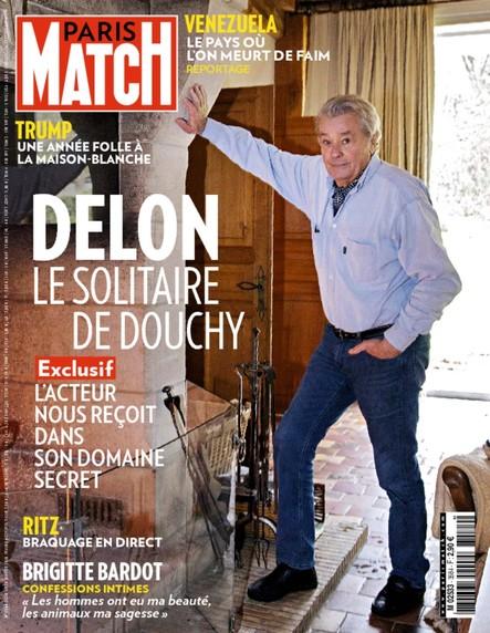 Paris Match N°3584 Janvier 2018