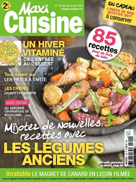 Maxi Cuisine | Janvier-Février 2018 | N°122