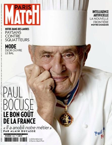 Paris Match N°3585 Janvier 2018