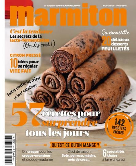Marmiton - Janvier /Février 2018 - n°39