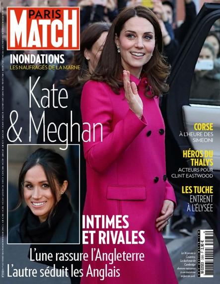 Paris Match N°3586 Février 2018