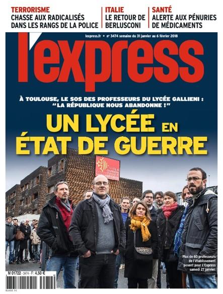 L'Express - Janvier 2018 - Un Lycée en état de guerre