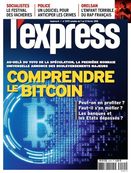 L'Express - Février 2018 - Comprendre le Bitcoin