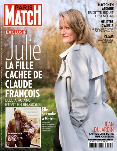 Paris Match N°3587 Février 2018