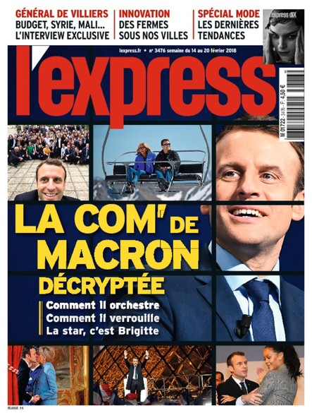 L'Express - Février 2018 - La Com' de Macron Décryptée