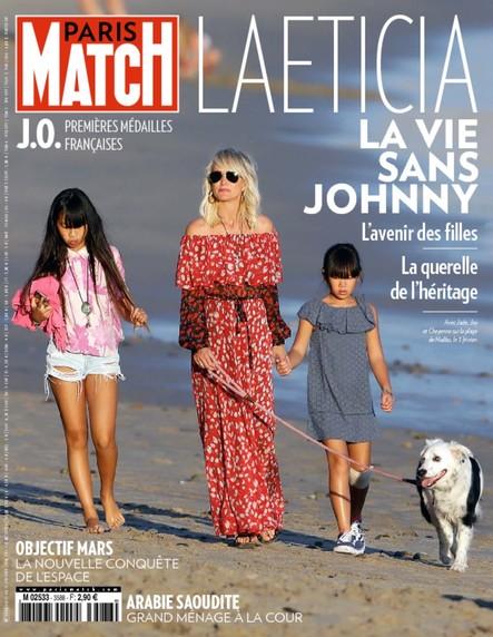 Paris Match N°3588 Février 2018