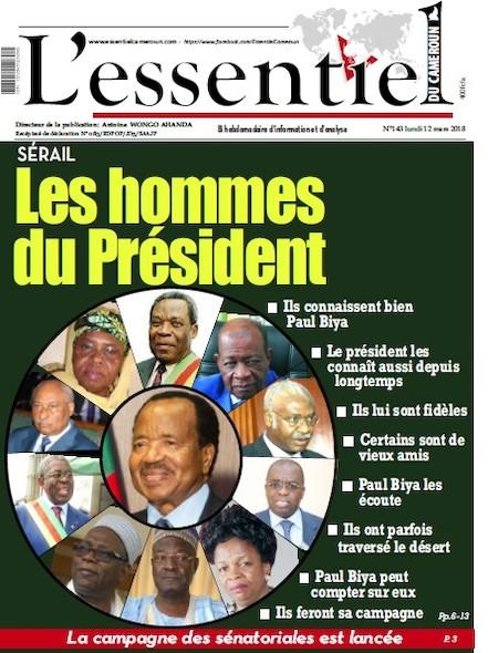 L'essentiel du Cameroun numéro 143