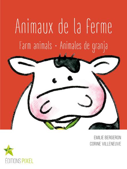 Animaux de la ferme : Farm animals · Animales de granja