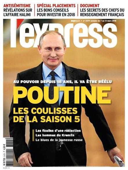 L'Express - Mars 2018 - Pouline, les Coulisses de la Saison 5