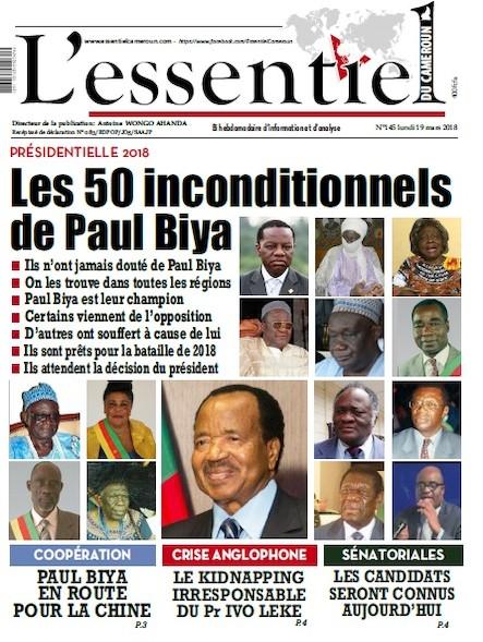 L'essentiel du Cameroun numéro 145