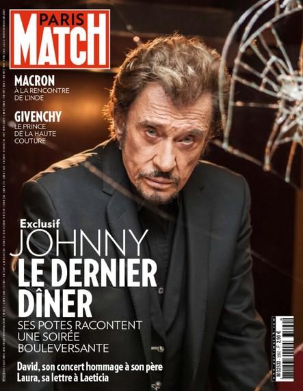 Paris Match N°3592 Mars 2018
