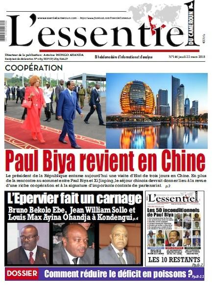 L'essentiel du Cameroun numéro 146