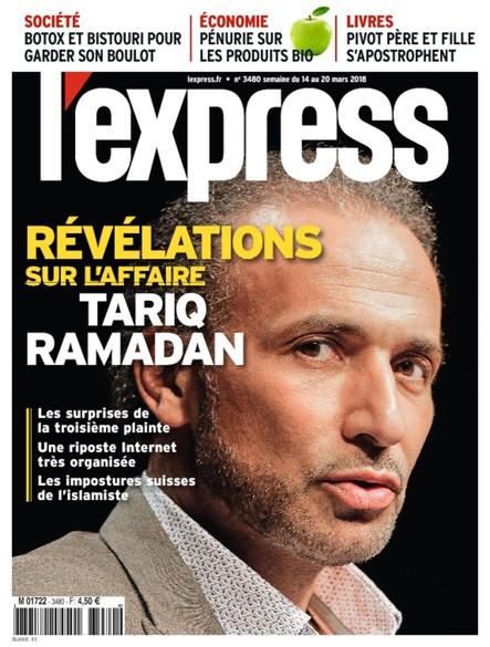 L'Express - Mars 2018 - Révélations sur l'affaire Tariq Ramadan