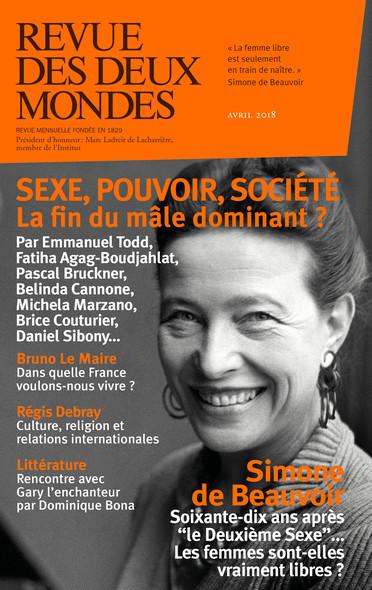 Revue des Deux Mondes avril 2018 : Sexe, pouvoir, société : la fin du mâle dominant ?
