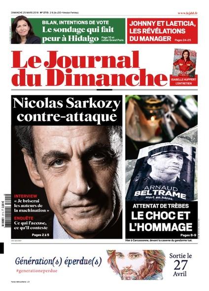 Journal Du Dimanche - 25 Mars 2018
