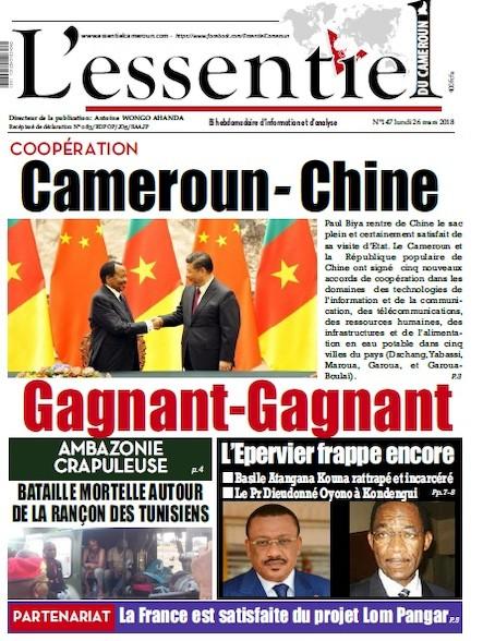 L'essentiel du Cameroun numéro 147