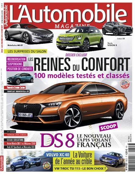 Automobile Magazine - Mars 2018