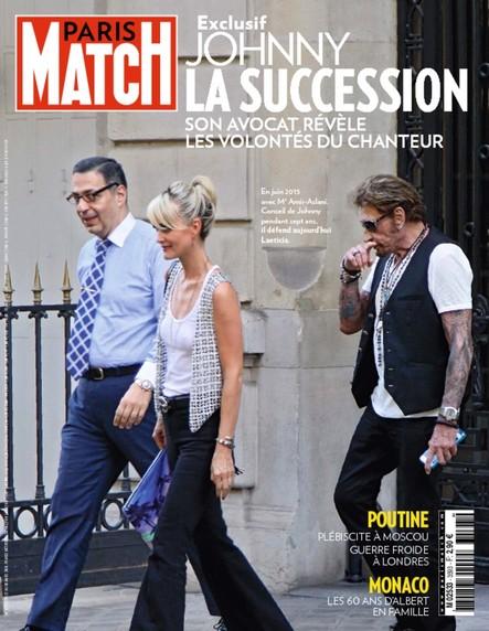 Paris Match N°3593 Mars 2018