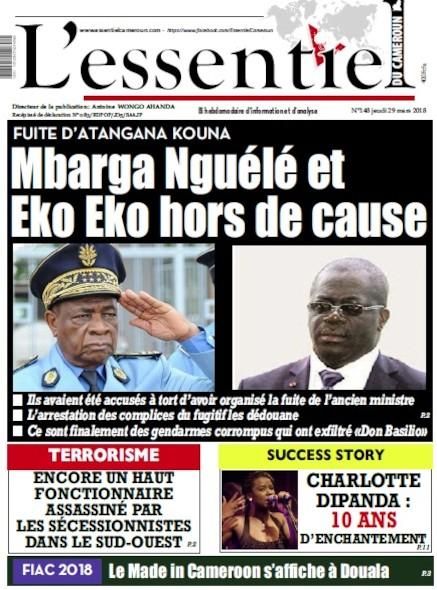 L'essentiel du Cameroun numéro 148