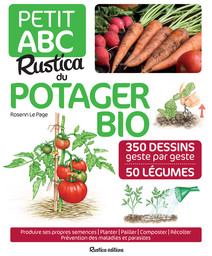 Petit ABC Rustic du potager bio | les petits ABC